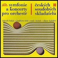 Různí interpreti – Symfonie a koncerty českých soudobých skladatelů / Lukáš, Feld, Hlobil, Kalabis: