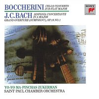 Pinchas Zukerman, Layton James, Johann Christian Bach, The Saint Paul Chamber Orchestra – Boccherini: Cello Concerto; J.C. Bach: Sinfionia Concertante (Remastered)