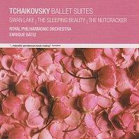 Přední strana obalu CD Tchaikovsky Ballet Suites: Swan Lake, The Sleeping Beauty, The Nutcracker