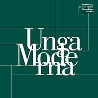 Přední strana obalu CD Unga Moderna: Stranded Rekords Singlar Album 1980-1986