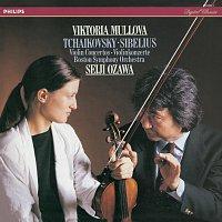 Viktoria Mullova, Boston Symphony Orchestra, Seiji Ozawa – Tchaikovsky & Sibelius Violin Concertos