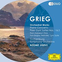 Gothenburg Symphony Orchestra, Neeme Jarvi – Grieg: Orchestral Works - Piano Concerto; Peer Gynt Suites Nos.1 & 2; From Holberg's Time; Two Elegiac Melodies; Lyric Suite