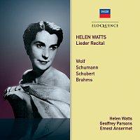 L'Orchestre de la Suisse Romande, Ernest Ansermet, Helen Watts, Geoffrey Parsons – Helen Watts – Lieder Recital