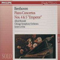 """Alfred Brendel, Chicago Symphony Orchestra, James Levine – Beethoven: Piano Concertos Nos.4 & 5 """"Emperor"""""""