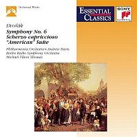 "Andrew Davis, The Philharmonia Orchestra – Dvorak: Symphony No. 6, Scherzo capriccioso, Suite, Op. 98b ""American"""