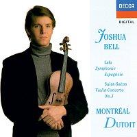 Joshua Bell, Orchestre Symphonique de Montréal, Charles Dutoit – Saint-Saens: Violin Concerto No. 3 / Lalo: Symphonie espagnole