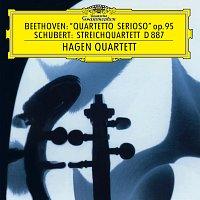 "Hagen Quartett – Beethoven: String Quartet No.11 In F Minor, Op.95 ""Serioso""  / Schubert: String Quartet In G, D. 887"