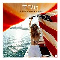 Train – a girl a bottle a boat