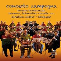 Přední strana obalu CD Concerto Zampogna - Baroque Music for Hurdy-Gurdy