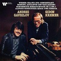 Gidon Kremer & Andrei Gavrilov – Weber, Rossini, Hindemith & Schnittke: Works for Violin and Piano