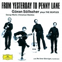 Přední strana obalu CD Goran Sollscher - From Yesterday to Penny Lane