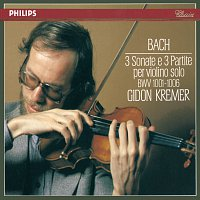 Gidon Kremer – Bach, J.S.: 3 Sonatas & Partitas for Solo Violin – CD