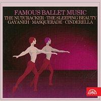 Přední strana obalu CD Slavná baletní hudba