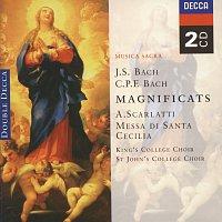 Choir Of St. John's College, Cambridge, The Choir of King's College, Cambridge – Bach, JS/Bach, CPE: Magnificats/Scarlatti: Messa di Santa Cecilia