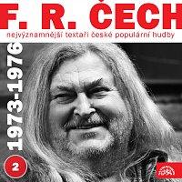 Přední strana obalu CD Nejvýznamnější textaři české populární hudby F.R. Čech 2 (1973 - 1976)