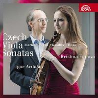 Kristina Fialová, Igor Ardašev – Martinů, Kalabis, Husa, Feld: České violové sonáty