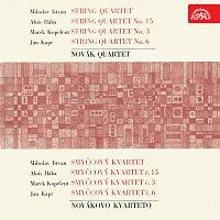 Dalibor Jedlička, Novákovo kvarteto – Smyčcové kvartety /Ištván, Hába, Kopelent, Kapr