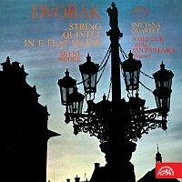 Přední strana obalu CD Dvořák: Smyčcový kvintet Es dur, Klid pro violu a klavír