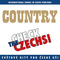Přední strana obalu CD Check The Czechs! Country nálada - zahraniční songy v domácích verzích