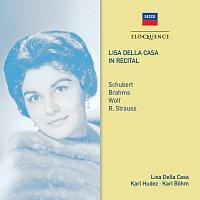 Přední strana obalu CD Lisa della Casa In Recital