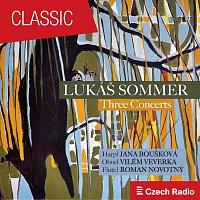 Přední strana obalu CD Lukáš Sommer: Three Concerts