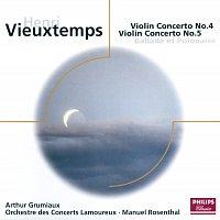 Arthur Grumiaux, Orchestre des Concerts Lamoureux, Manuel Rosenthal – Vieuxtemps: Violin Concertos Nos.4 & 5 etc
