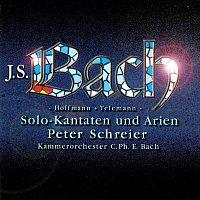 Peter Schreier, Kammerorchester Carl Philipp Emanuel Bach – Bach, J.S, Hoffmann & Telemann: Solo Cantatas & Arias