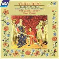 Přední strana obalu CD Ockeghem: Missa Mi-mi; Salve regina; Alma redemptoris mater