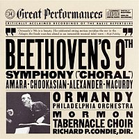 "John Alexander, Lucine Amara, John Macurdy, The Mormon Tabernacle Choir, The Philadelphia Orchestra, Eugene Ormandy, Lili Chookaskian – Beethoven: Symphony No. 9 in D minor, Op. 125 ""Choral"""
