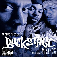 Přední strana obalu CD DJ Clue Presents: Backstage- Mixtape (Music Inspired By The Film)