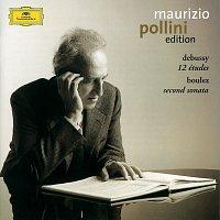 Přední strana obalu CD Debussy: 12 Etudes / Boulez: Sonata No.2