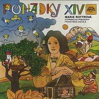 Přední strana obalu CD Marie Rottrová vypravuje pohádky Františka Nepila a zpívá své písničky