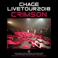 """Přední strana obalu CD Chage Live Tour 2018 """"CRIMSON"""""""