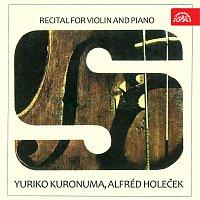 Yuriko Kuronuma, Alfréd Holeček – Recitál pro housle a klavír