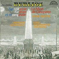 Přední strana obalu CD Berlioz: Kleopatra, Velká symfonie smuteční a triumfální