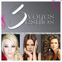 Přední strana obalu CD 3 Voces 3 Estilos