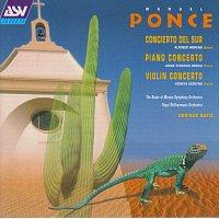 Přední strana obalu CD Ponce: Concierto del Sur; Piano Concerto; Violin Concerto