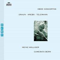 Přední strana obalu CD Graun / Krebs / Telemann: Oboe Concertos