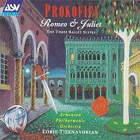 Přední strana obalu CD Prokofiev: Romeo & Juliet - The Three Ballet Suites