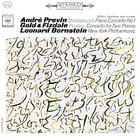 André Previn, Dmitri Shostakovich, William Vacchiano, Leonard Bernstein, New York Philharmonic Orchestra – Shostakovich: Piano Concerto No.1  Op. 35 & Poulenc: Concerto for Two Pianos and Orchestra in D Minor FP. 61 (Remastered)