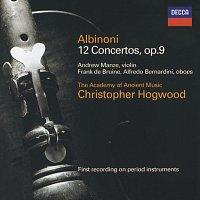 Přední strana obalu CD Albinoni: Concertos Op.9 Nos.1-12