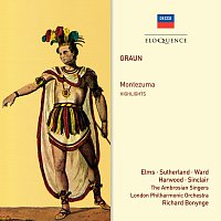 Richard Bonynge, Lauris Elms, Elizabeth Harwood, London Philharmonic Orchestra – Graun: Montezuma – Highlights