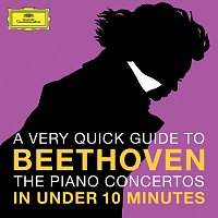 Přední strana obalu CD Beethoven: The Piano Concertos in under 10 minutes