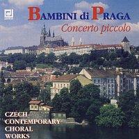 Přední strana obalu CD Bambini di Praga Concerto piccolo