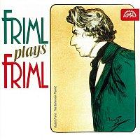 Přední strana obalu CD Friml hraje Frimla