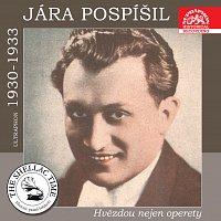 Přední strana obalu CD Historie psaná šelakem - Jára Pospíšil hvězdou nejen operety (Ultraphon 1930 - 1933)