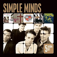 Simple Minds – 5 Album Set [Sons and Fascination/New Gold Dream/Sparkle in the Rain/Once Upon a Time/Street Fighting Years]