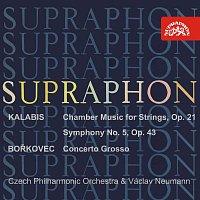 Česká filharmonie, Václav Neumann – Kalabis: Komorní hudba pro smyčcové nástroje, V. symfonie op. 43 - Bořkovec: Concerto grosso