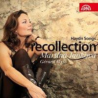 Přední strana obalu CD Recollection. Písně Josepha Haydna