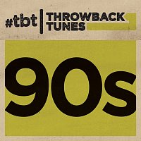 Přední strana obalu CD Throwback Tunes: 90s
